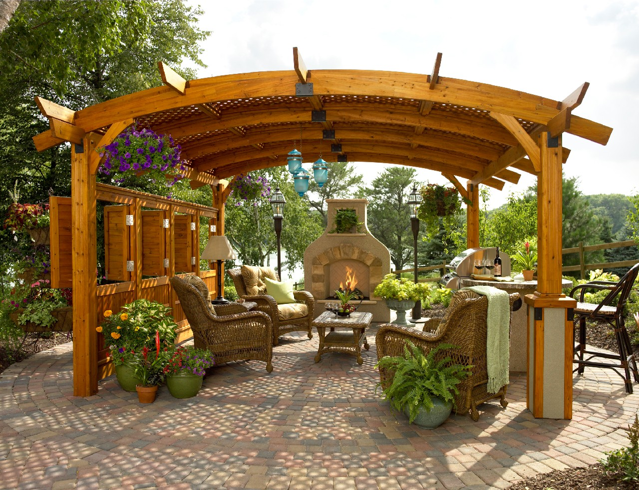 Stylish Pergola Ideas for Your Home - Pool Quest